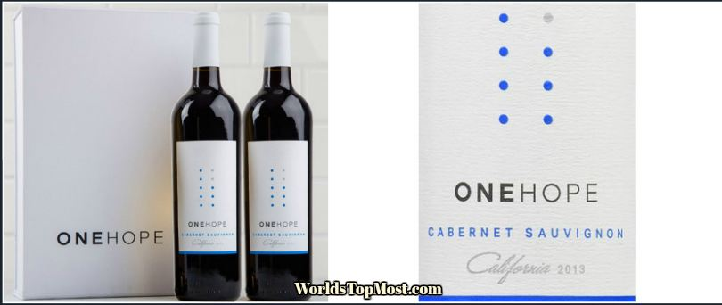 ONEHOPE Cabernet Sauvignon best selling wines 2016-2017