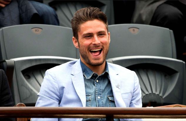 Olivier Giroud Top popular handsome soccer players in the world 2018