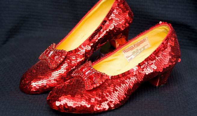 Original 'Wizard of Oz' Ruby Slippers, World's Most Expensive Shoes 2017