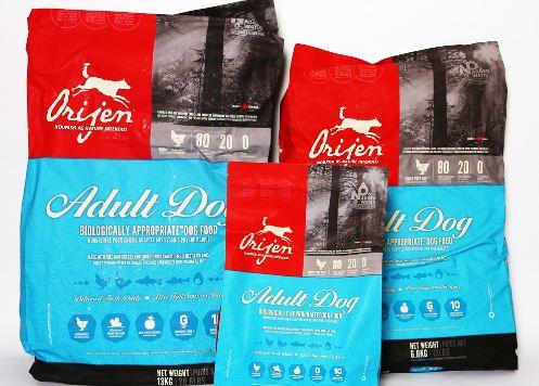 Orijen Top most Best Selling dog foods in the world 2018