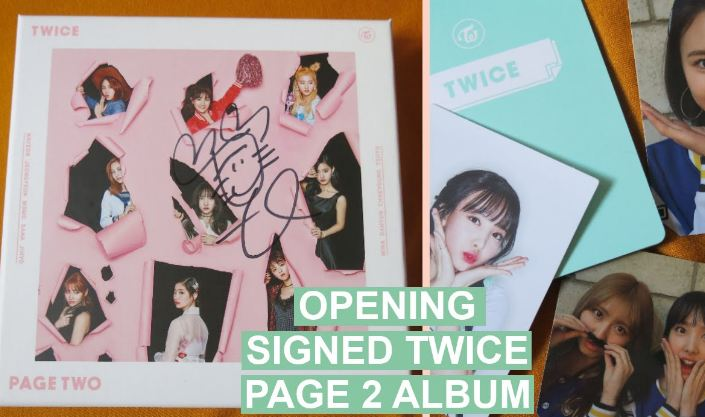 Page Two- Twice, kpop albums 2016-2017