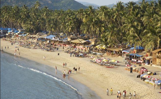 Palolem Beach most popular vacation spots 2016-2017