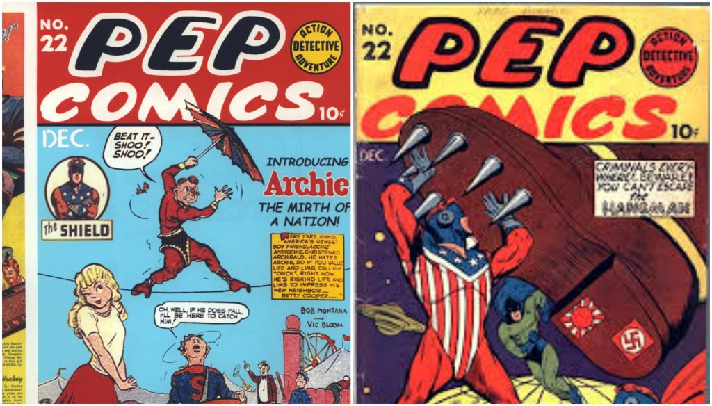 Pep Comics No 22, most Expensive Comics 2017