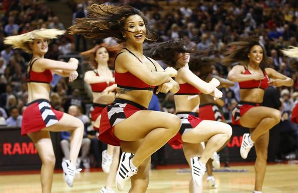 Raptors Dance Pak, Most Popular Hottest NBA Cheerleaders 2016
