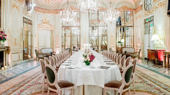Restaurant Le Meurice, Paris Most popular Expensive Restaurants in the World 2018