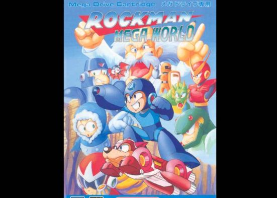 Rock Man Mega World