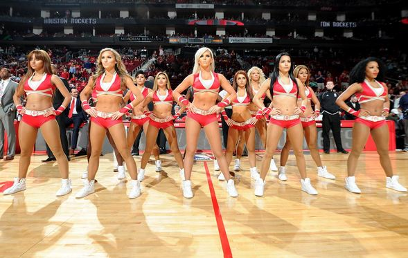 Rockets Power Dancers, Most Popular Hottest NBA Cheerleaders 2017