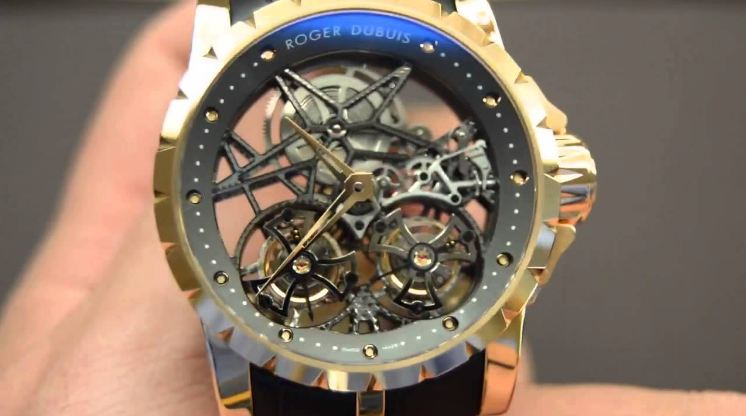 Roger Dubuis Millesime Double Flying Tourbillon, beautiful Men's Watches 2017