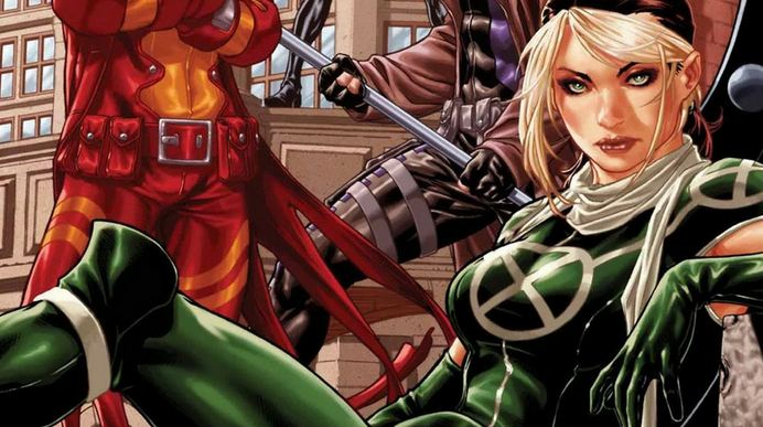 Rogue, Hottest Comic Book Female Characters 2018