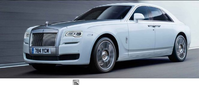 Rolls-Royce Ghost, Most Expensive Luxury Cars In The World 2016