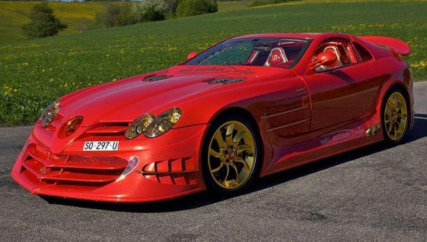 SLR McLaren Red Gold Dream