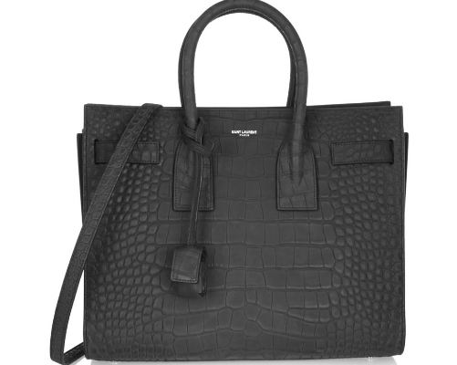 Saint Laurent-Saint Laurent Sac De Jour Alligator Tote