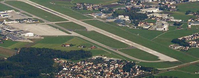 Salzburg Airport in Salzb