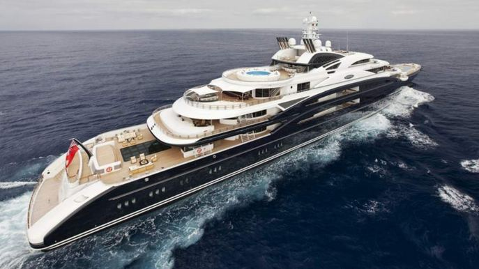 Seven Seas, World's Most Expensive Yachts 2018