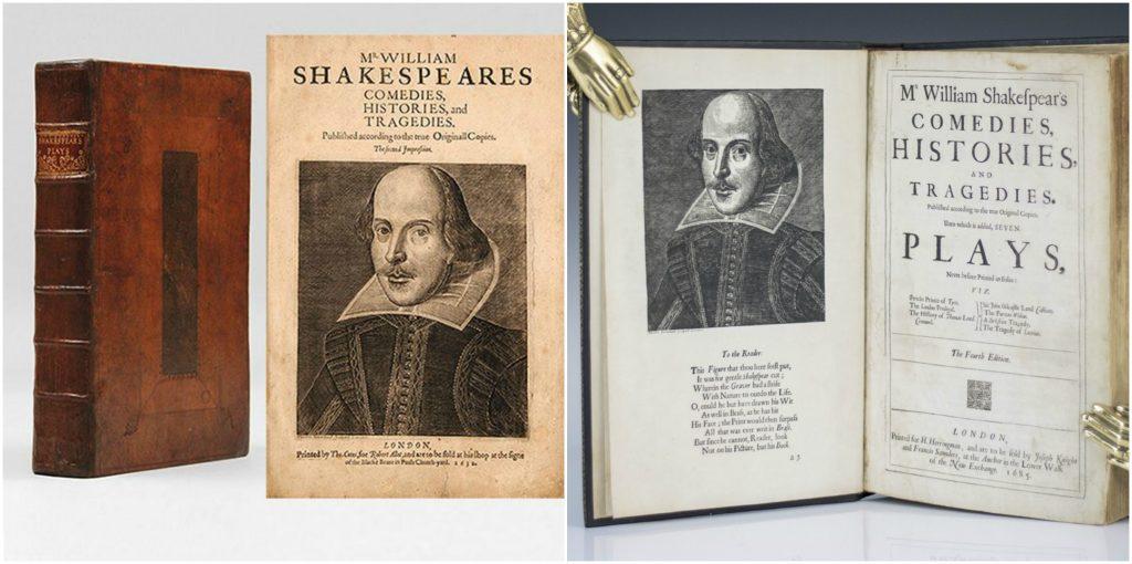 Shakespeares Comedies, Histories, & Tragedies
