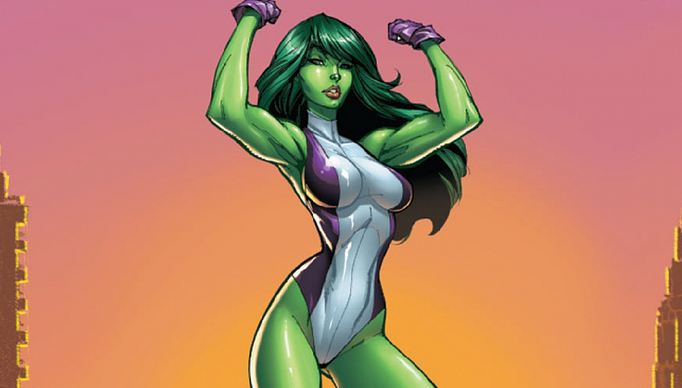 She-Hulk, Hottest Comic Book Female Characters 2019