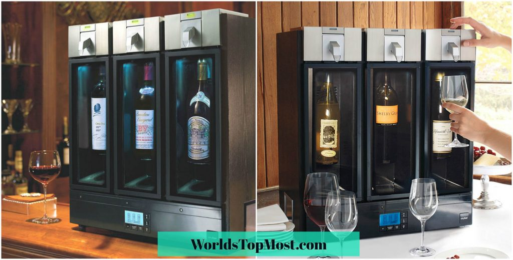 Skybars Wine Preservation and serving system Expensive Kitchen Gadgets 2016