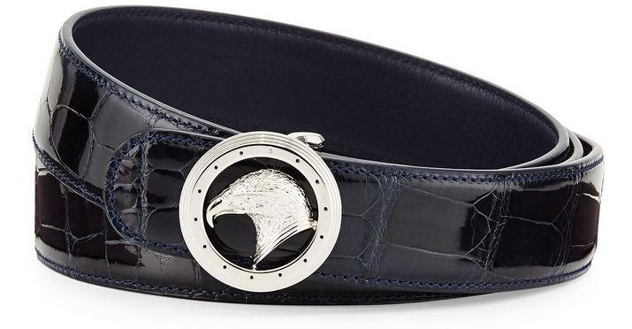 Stefano Ricci Crocodile and Palladium Belt, World's Most Expensive Belts 2018