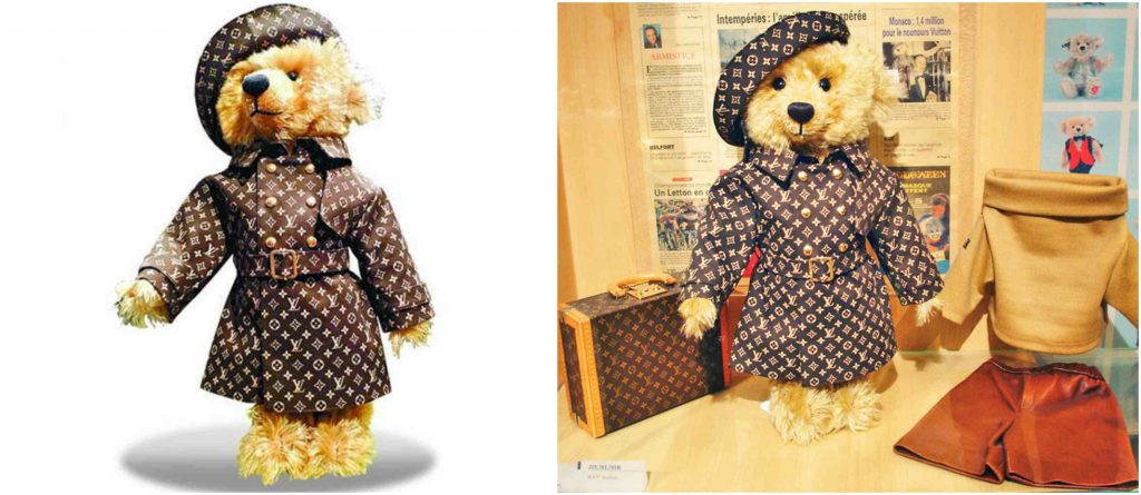 Steiff Louis Vuitton Teddy Bear, World's Most Expensive Toys 2017