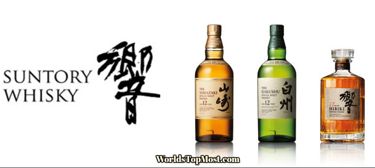 Suntory top Selling Whiskey Brands 2016