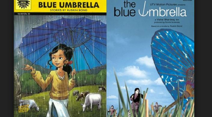 The Blue Umbrella Top most Best Selling English Novels in the world 2018