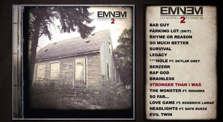 The Marshall Mathers LP- Eminem