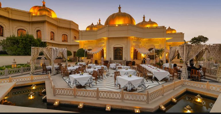 The Oberoi Udaivilas, Most Expensive Luxurious Hotels in India 2018
