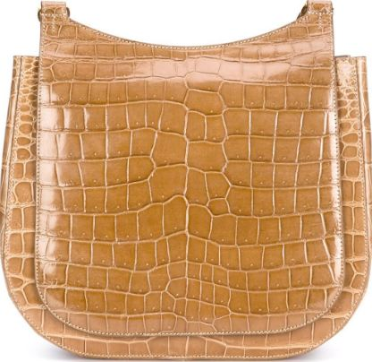 The Row-Hunting Crocodile Shoulder Bag