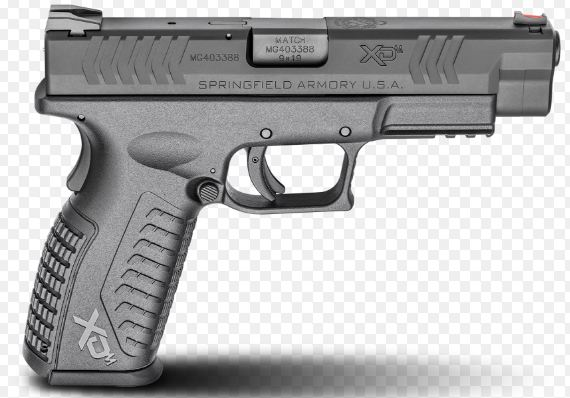 The Springfield XD m 4.5, Top most popular best selling handguns in the World 2019