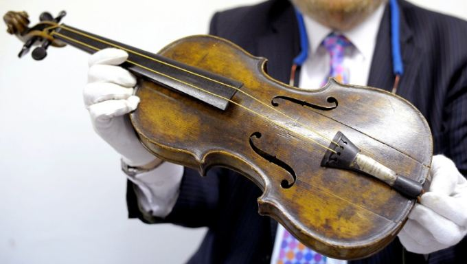 The Titanic Violin, World's Most Expensive Violins 2016