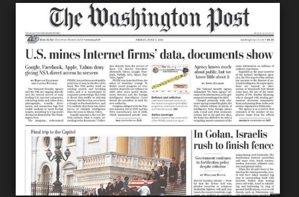 The Washington Post Top Most Popular Best Selling Newspapers in The World 2019