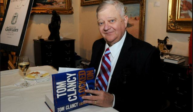 Tom Clancy, World's Most Popular Richest Writers 2017