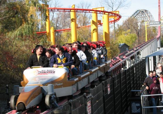 Top Thrill Dragster 400-Foot Drop