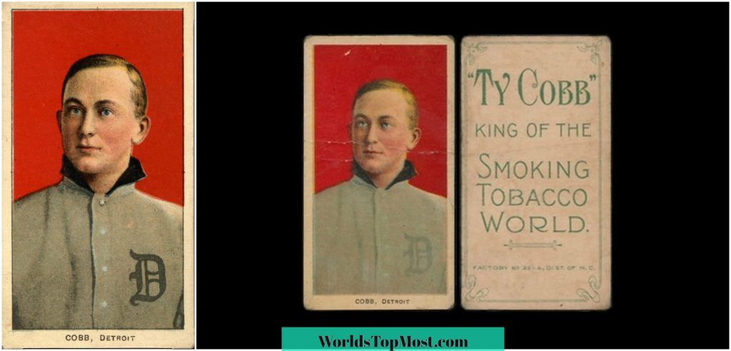 Ty Cobb expensive baseball cards 2016-2017