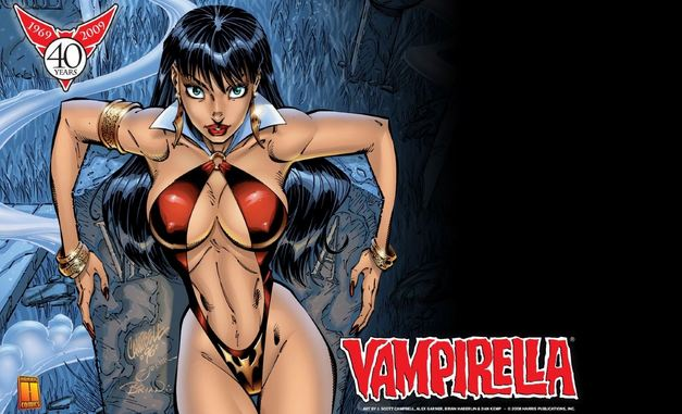 Vampirella, Hottest Comic Book Female Characters 2017