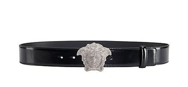 Versace Crystal 3D Medusa Belt