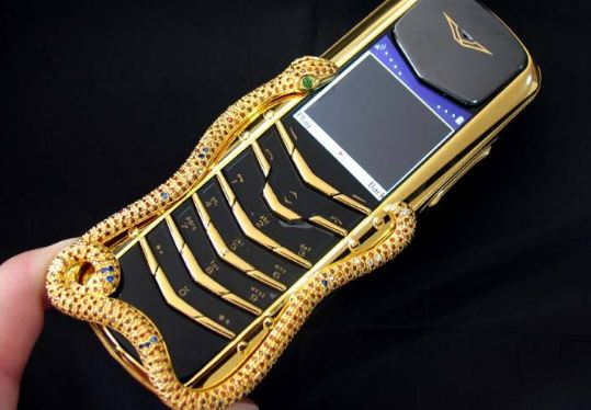 Vertu Signature Cobra, World's Most Expensive Phones 2018