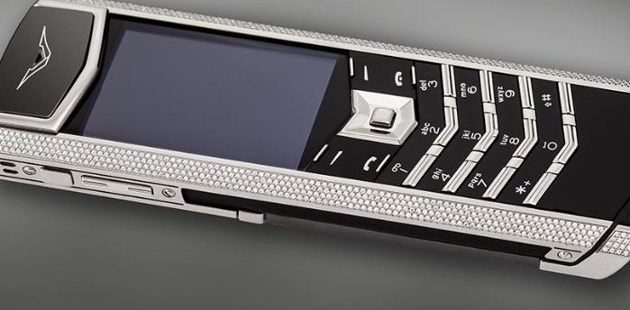 Vertu Signature Diamond, Most Expensive Phone 2018