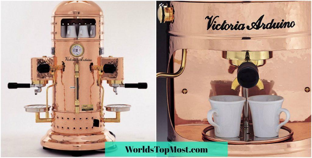 Victoria Arduino Venus Century Espresso Machine Expensive Kitchen Gadgets 2016