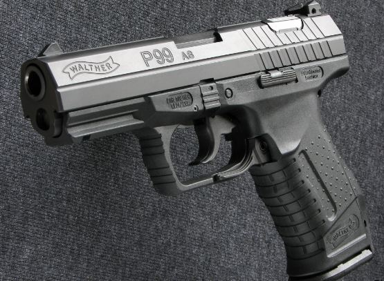 Walther P99 AS610, Top 10 best selling handguns in the World 2017