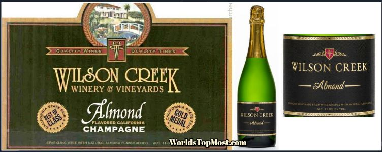 Wilson Creek Almond best selling wines 2016-2017