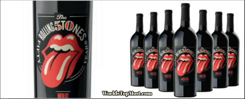 Wines That Rock Rolling Stones -top best selling wines 2016-2017