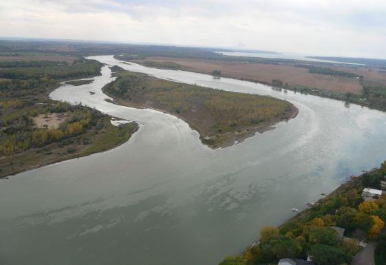 Yenisei-Angara-Selange River