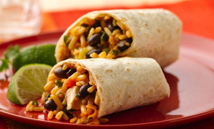 cheapest foods Bean burritos 2016-2017