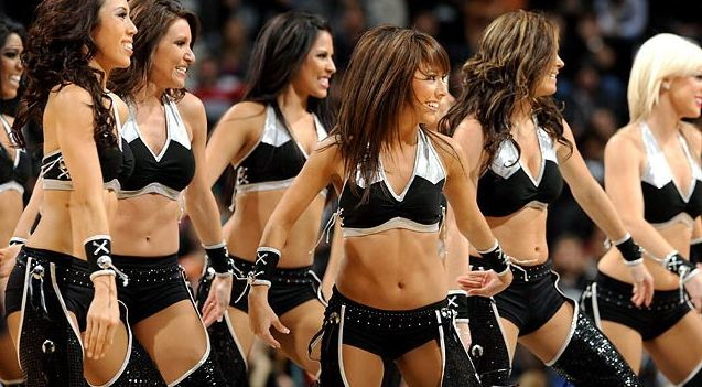 spurs Silver Dancers, Most Popular Hottest NBA Cheerleaders 2018