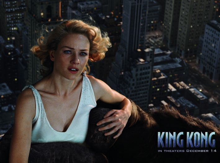 king kong, Top 10 Movies By Naomi Watts of All Time 2017