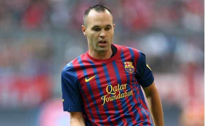 Andres Iniesta Top 10 Most Popular Hottest Soccer Players 2017
