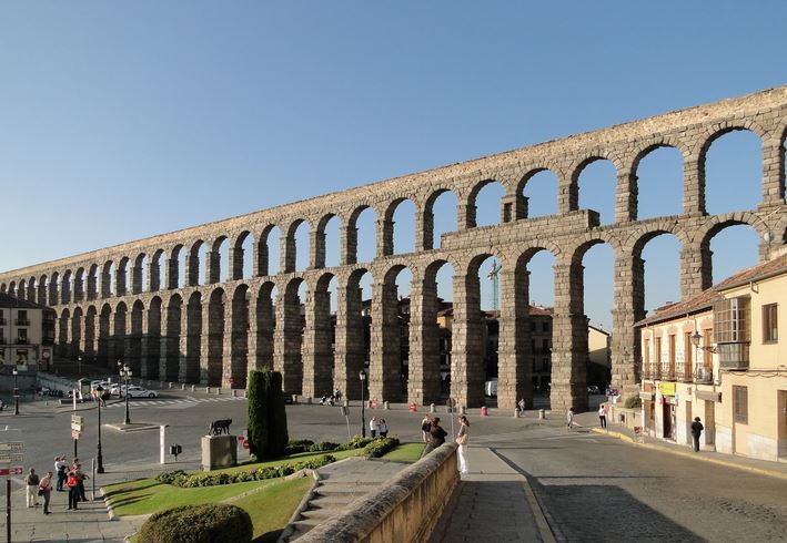 Aqueduct of Segovia, Top 10 Best Daytime Tourist Attractions In Spain 2017