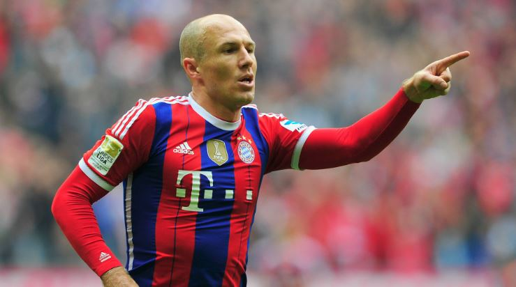 Arjen Robben Top Most Popular Hottest Soccer Players 2017
