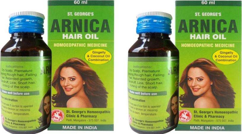 Arnica Hair oil, Top 10 Best Oils For Thick Hairs 2017